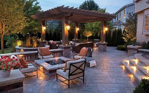Outdoor lighting for your Raleigh home