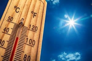 save on electric bill this summer thermometer summer