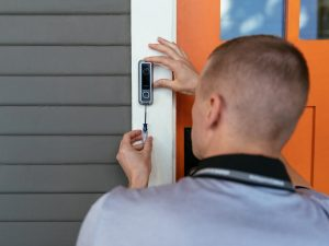 smart doorbell installation