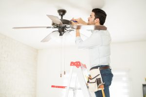 electrical upgrades ceiling fan installation
